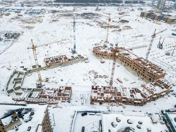 Фото Жилой комплекс ПРЕОБРАЖЕНСКИЙ, дом 4, Ход строительства 24 декабря 2018