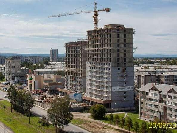 Ход строительства 20 сентября 2019