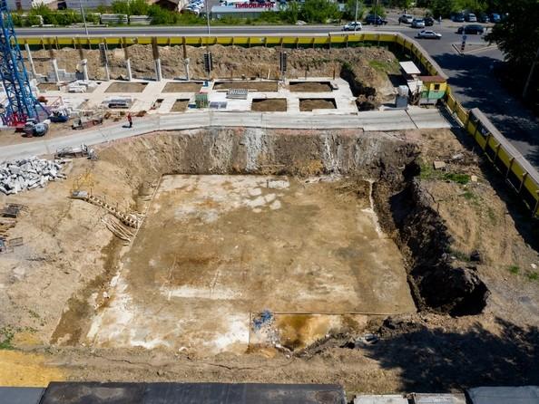 Фото Жилой комплекс НА ВЫСОТЕ, 2 этап, Ход строительства 14 июня 2019