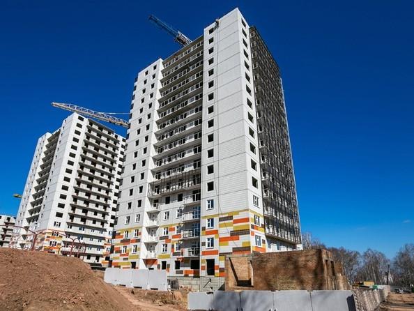 Фото Жилой комплекс ЛЕСНОЙ МАССИВ, дом 1, стр 2, Ход строительства 14 апреля 2019