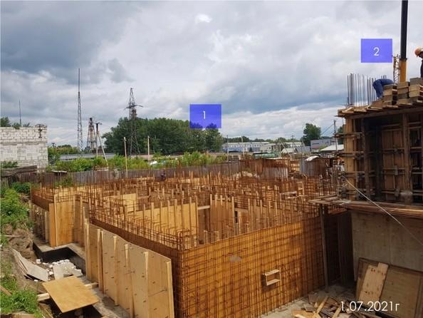 Ход строительства 1 июля 2021