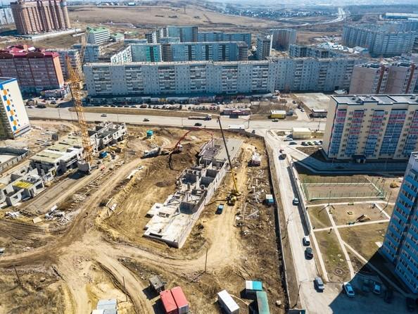Фото Жилой комплекс Солнечный, 3 мкр, 2 квартал, дом 11, Ход строительства 24 апреля 2018