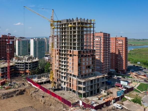 Фото ВЕРШИНА, Ход строительства 5 августа 2019