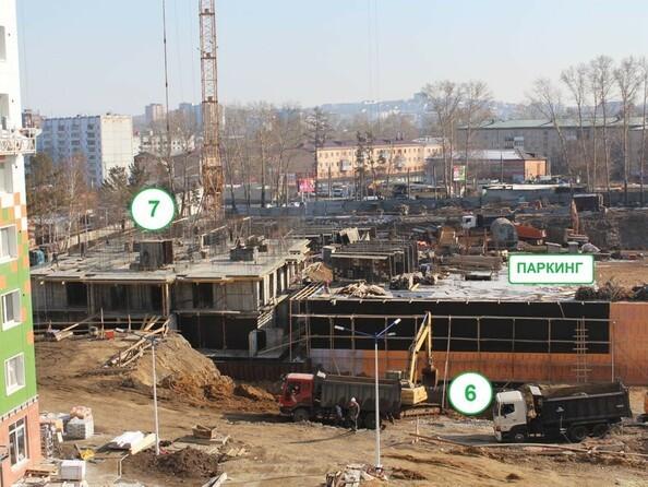 Фото АТМОСФЕРА, б/с 7, Ход строительства март 2019