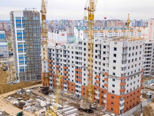 Фото Жилой комплекс МАРС, дом 10, Ход строительства апрель 2019