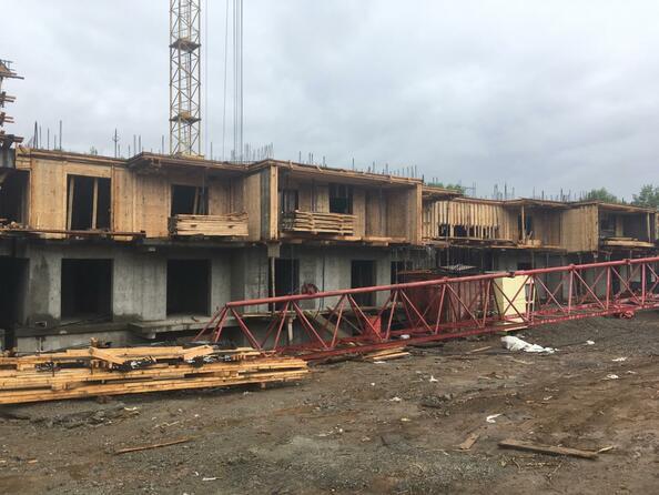 Фото ГРАНД-ПАРК, б/с 2-1, Ход строительства 3 июня 2019