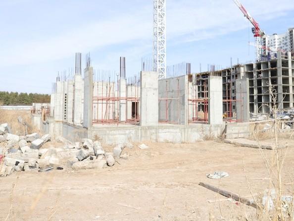 Ход строительства 21 апреля 2020