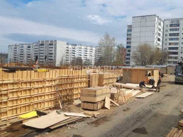 Ход строительства 19 мая 2021