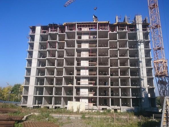 Ход строительства сентябрь 2021