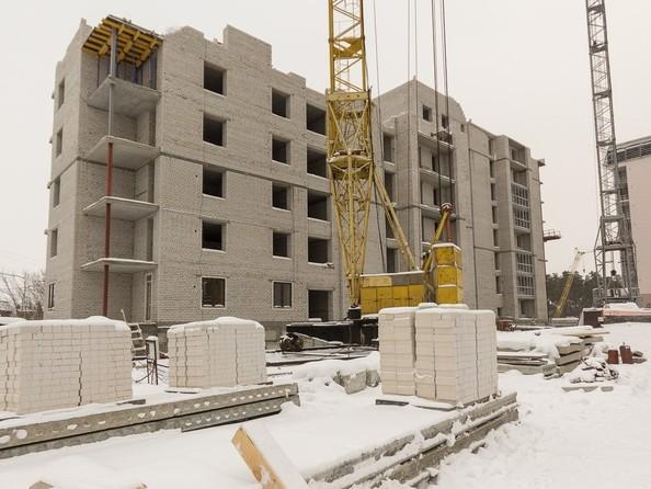 Ход строительства декабрь 2019. Блок-секции 1,2