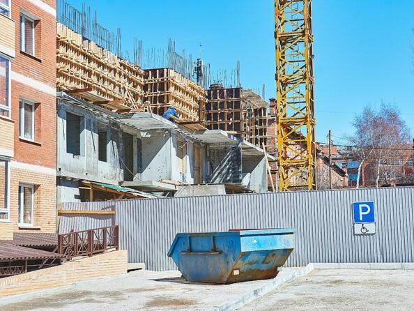 Фото Жилой комплекс РОДНОЙ БЕРЕГ, 7 б/с, Ход строительства 22 апреля 2019