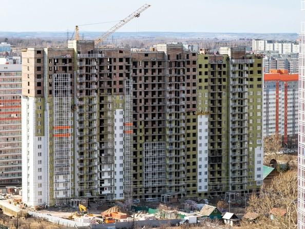 Фото Жилой комплекс СЕРЕБРЯНЫЙ, квр 1, дом 1, Ход строительства 24 апреля 2018