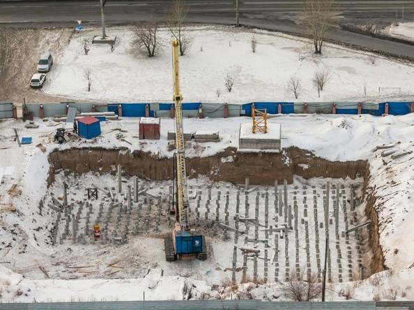 Фото Жилой комплекс АКВАРЕЛЬ, Ход строительства 12 декабря 2016