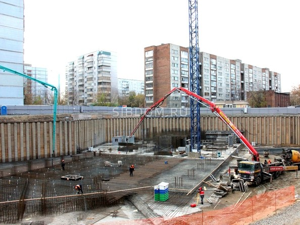 Фото Жилой комплекс РОМАНТИКА, Ход строительства октябрь 2018
