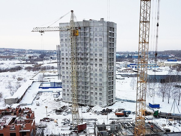 Фото Жилой комплекс ВЕРХНИЙ БУЛЬВАР, дом 8, Ход строительства февраль 2019