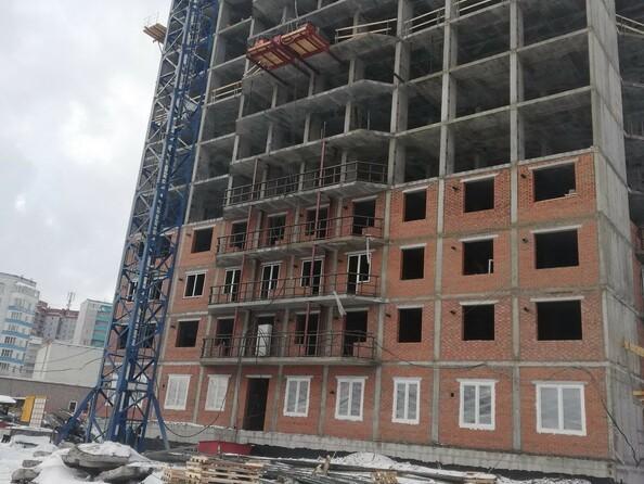 Фото Жилой комплекс Немировича-Данченко, дом 1, Ход строительства февраль 2019