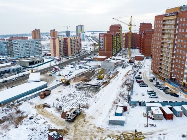 Фото Жилой комплекс СНЕГИРИ, дом 7, Ход строительства 20 февраля 2019