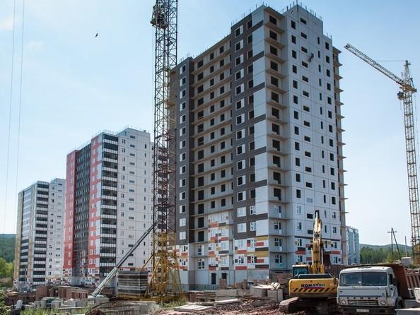 Фото Жилой комплекс ЛЕСНОЙ МАССИВ, дом 1, стр 8, Ход строительства 16 августа 2019