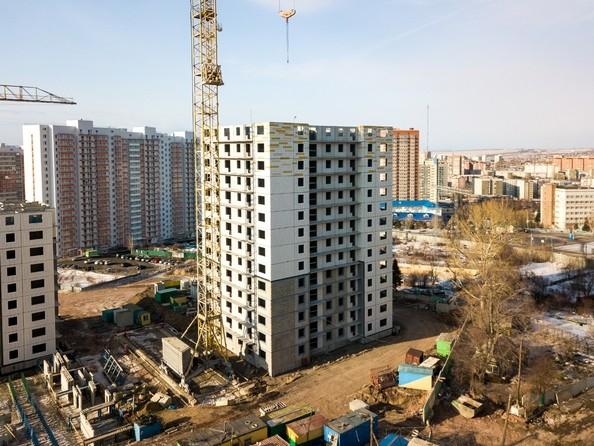 Фото Жилой комплекс КУРЧАТОВА, дом 8, стр 1, Ход строительства 25 февраля 2019