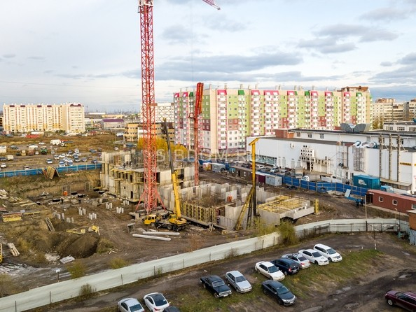 Фото Жилой комплекс КОМСОМОЛЬСКИЙ , Ход строительства 21 октября 2018