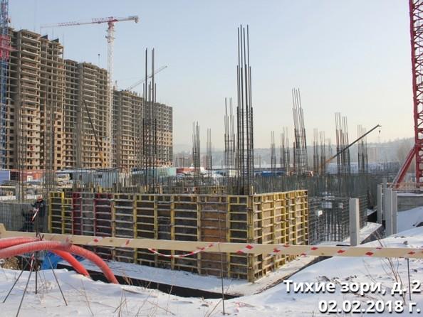 Ход строительства 2 февраля 2018