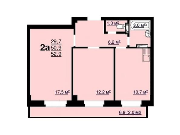 Планировки Жилой комплекс Ласточка, дом 2