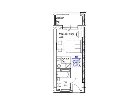 Планировки Жилой комплекс ЛОКОМОТИВ, корпус 9