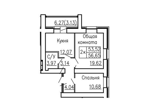 Планировки Жилой комплекс Антона Петрова, 221д