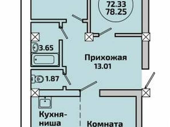 Планировки Жилой комплекс РОДНИКИ, дом 453