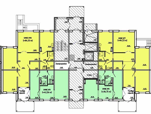 Нежилое, 1 этаж, 3 подъезд