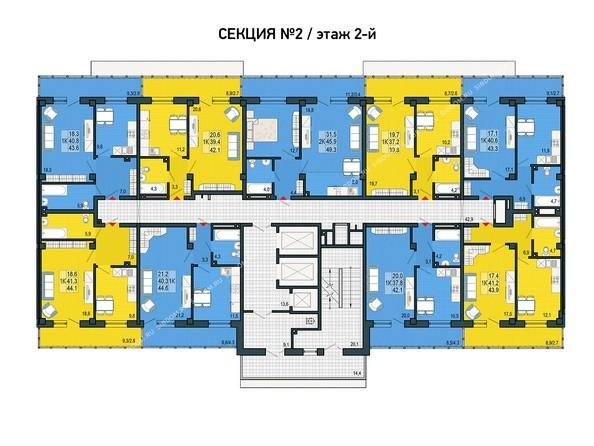 2 этаж, 2 секция