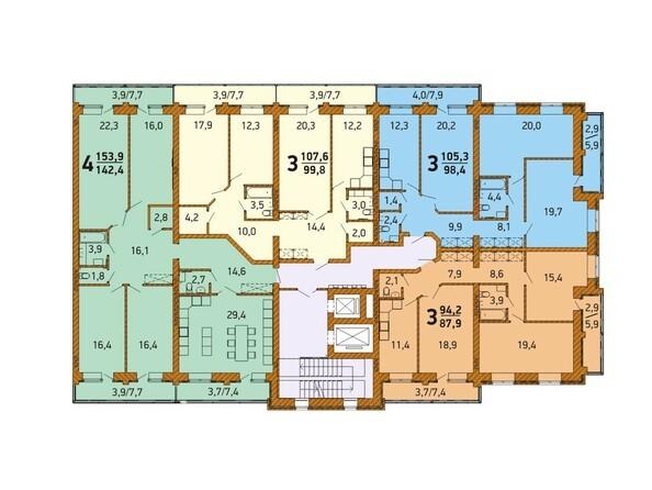 Планировка 6-10 этажа