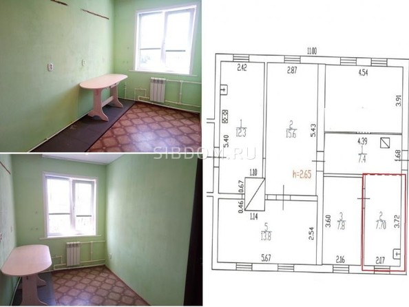 Продам дом, 77.5 м², Новомоношкино. Фото 22.