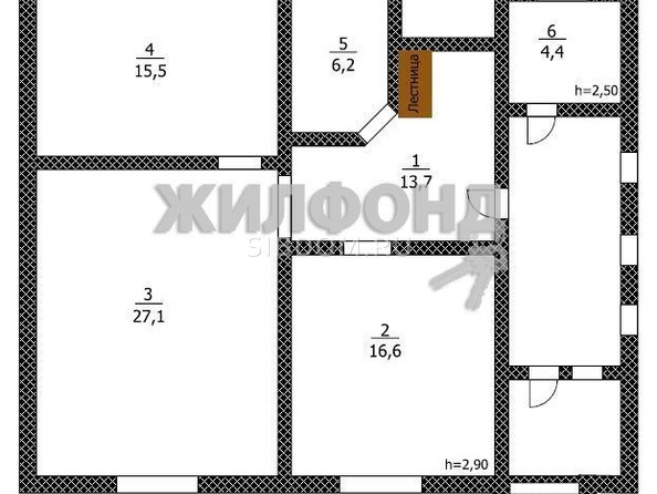 Продам дом, 100 м², Барнаул. Фото 24.