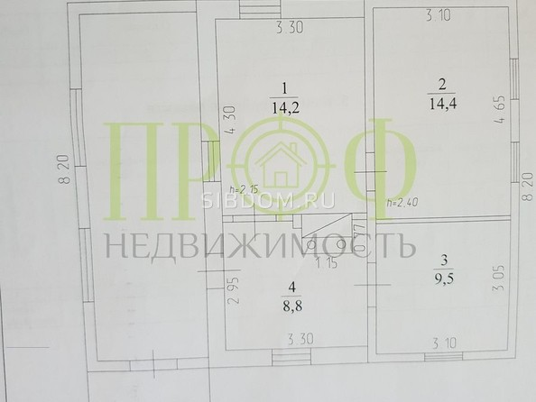 Продам дом, 46.9 м2, Кемерово. Фото 2.