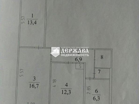 Продам 3-комнатную, 63 м2, Линия 1-я ул, 8. Фото 1.
