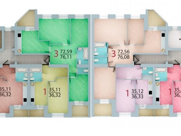 Продам 1-комнатную, 28.28 м², ЕНИСЕЙСКИЙ, дом 1. Фото 7.