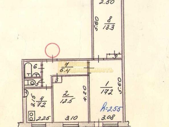 Продам 3-комнатную, 61.2 м², Лермонтова ул, 128. Фото 15.